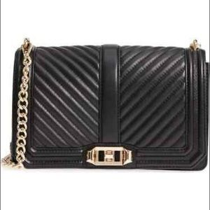 Rebecca Minkoff Crossbody Small Purse Bag Quilted